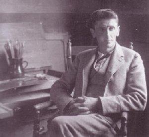 Carl Ahrens at Roycroft n.d.