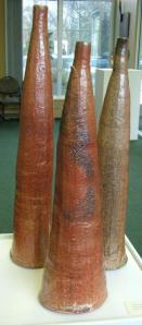 Wood fired tall bottles: 2005