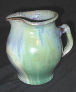 Axel Ebring. Milk Jug Marked Notch Hill, B.C. 7""