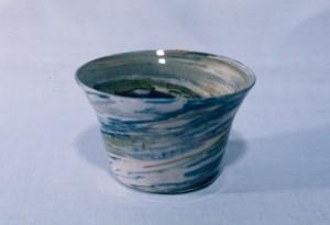 Hagen Scotian Pebble Dish, Blue and Green, n.d. Mt. St. Vincent University Halifax