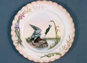 Hagen Shovel Duck Game Plate