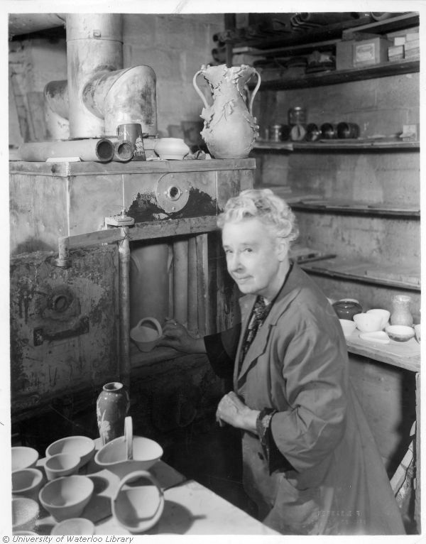 Alice Hagen in her Studio