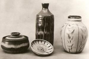 "Pottery by ""Bobs"" Gogill Haworth. n.d."
