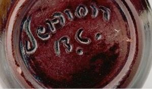 """Ebring .""""Vernon B.C. """" Signature"""