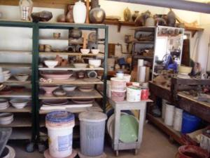 Alan Lacovetsky's Studio in St. Andrews, Manitoba