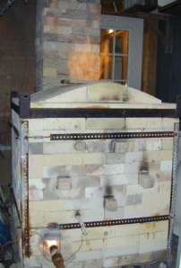 Paula Murray's Salt Kiln. Courtesy of the Artist