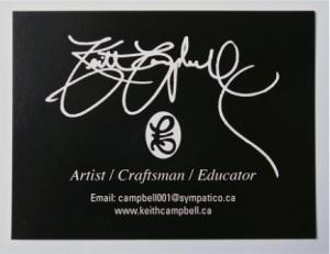 Keith Campbell's Business Card