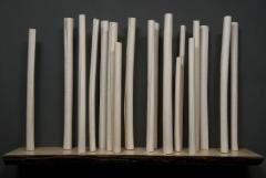 Paula Murray Sanctuary 2012 80 x 54 x 18cm Scroll/Birch Series. Courtesy of the artist.