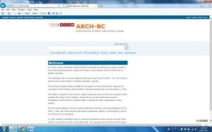 ARCH_BC Homepage