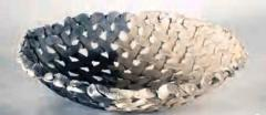 Ann Mortimer. Woven Bowl. n.d. Collection of Brian Cooke