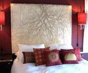 Susan Collett. Tile, Gladstone Hotel.