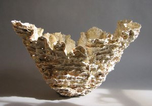 "Susan Collett. Untitled, Shale Series 16"" H x 27"" x 13""."