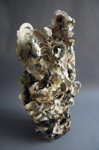 Susan Collett. Cavern 1. Laurel Series. 28H x 14W x 14D inches