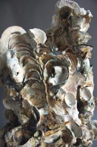 Susan Collett. Cavern 1 (Detail), Laurel Series. 28H x 14W x 14D inches