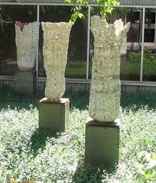 Susan Collett. Impluvium Installation. Burlington Art Centre. 2006