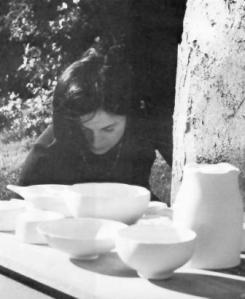 Enid Legros 1974. Photograph by Robert Barzel.