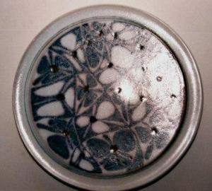 Connie Pike. Decorative Plate, Bragg Creek, 1984-89.