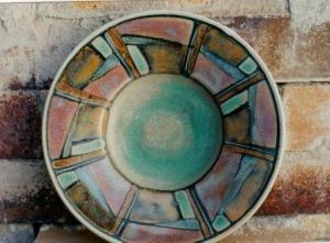 Connie Pike. Decorative Bowl. 1999. High River