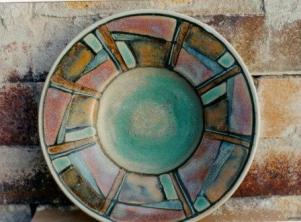 Connie Pike. Decorative Bowl. 1999. High River