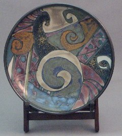 Connie Pike Decorative Plate, 1994-96. High River