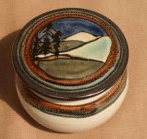 Connie Pike Landscape Box, 1995