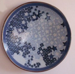 Connie Pike. Starplate, Decorative Plate, 1994-96. High River