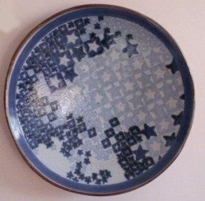 Connie Pike. Starplate, Decorative Plate, 1994-96. High River