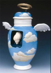 Brendan Tang. Angel Urn, 1999