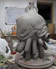 Brendan Tang Tank Vase, 2009