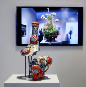 Brendan Tang. #lovechild, 2013. 56 cm at Gallery Jones exhibition.