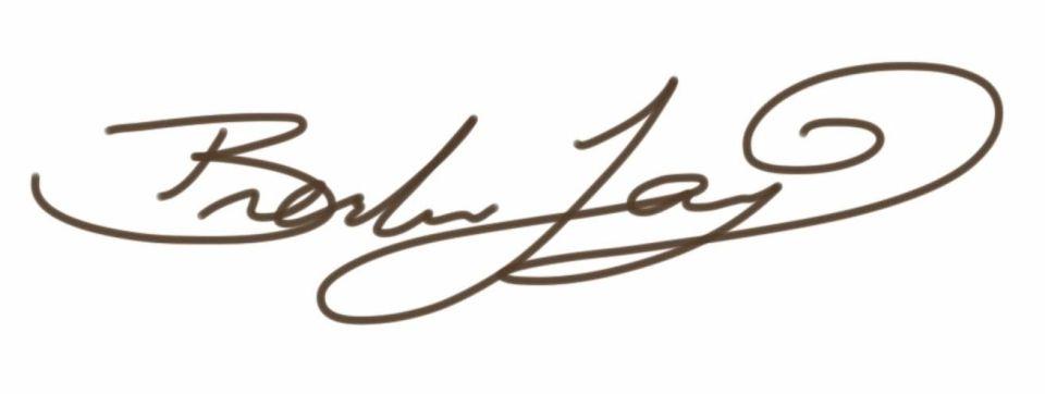 Brendan Tang Signature