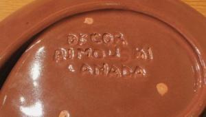 Gaétan Beaudin Decor Romouski Stamp 1946-53. Courtesy, importantcanadiandesign.com; Photo: by Tilai Ellis-Stairs