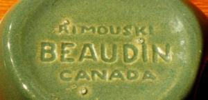 Gaétan Beaudin Decor Rimouski Stamp 1946-53. Courtesy, importantcanadiandesign.com; Photo: byTilai Ellis-Stairs