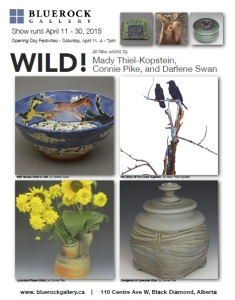 Connie Pike at Wild Exhibition, Blue Rock Gallery April 11-30