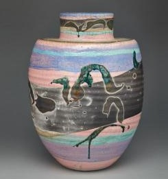 Walter Dexter, 1989. Vase, 40.6 cm