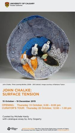 John Chalke: Surface Tension Exhibition