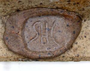 Stan Clarke. Initials SHC Stamp, c. 1980.