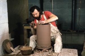 Alain-Marie Tremblay at the wheel. 1970s