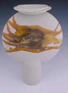 Robin Hopper. Disc Vase.
