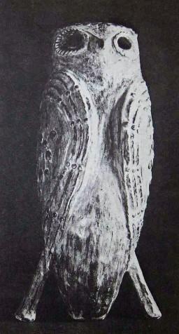 Thomas Kakinuma. Owl, unknown catalogue, Image courtesy of Allan Collier.