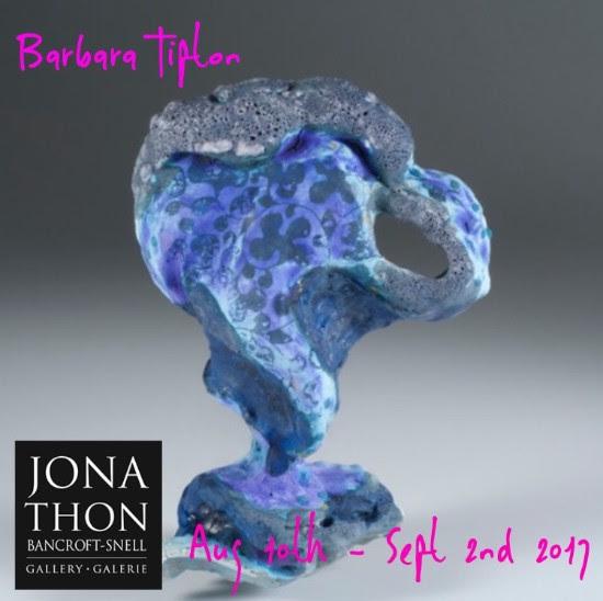 Barbara Tipton at the Jonathon Bancroft-Snell Gallery, August 10-September 2, 2017