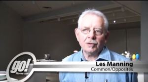 Les Manning. Common Opposites Youtube video produced at the Moose Jaw Museum and art Gallery. Shaw TV Moose Jaw. published June 2014.