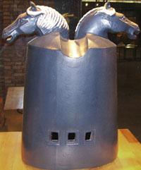 Les Manning. 2007. War Horse, Fuping. Photo Grace Nickel blog