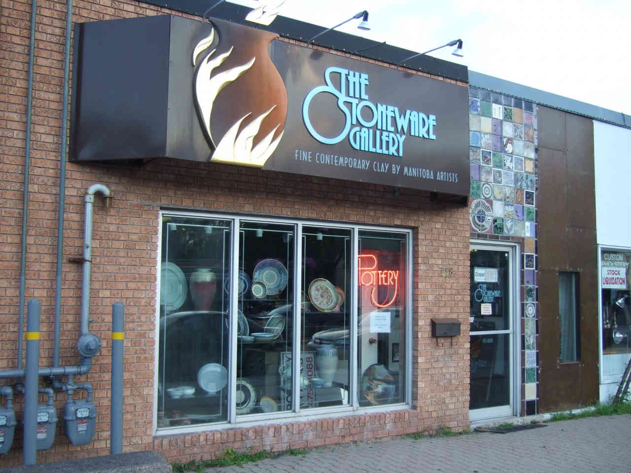 The Stoneware Gallery, Winnipeg