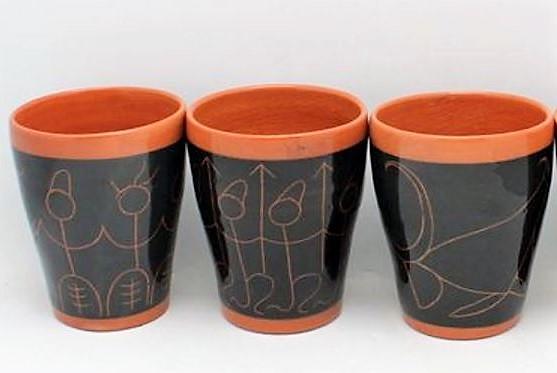 David Lambert. 1962. Stick Mugs.