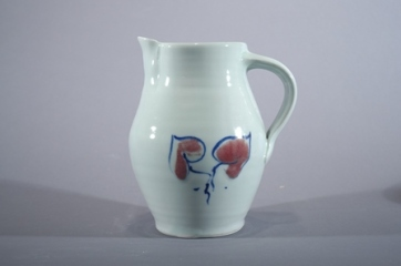 Barbara Tipton. Hand-painted Porcelain Pitcher. ca. 2011.