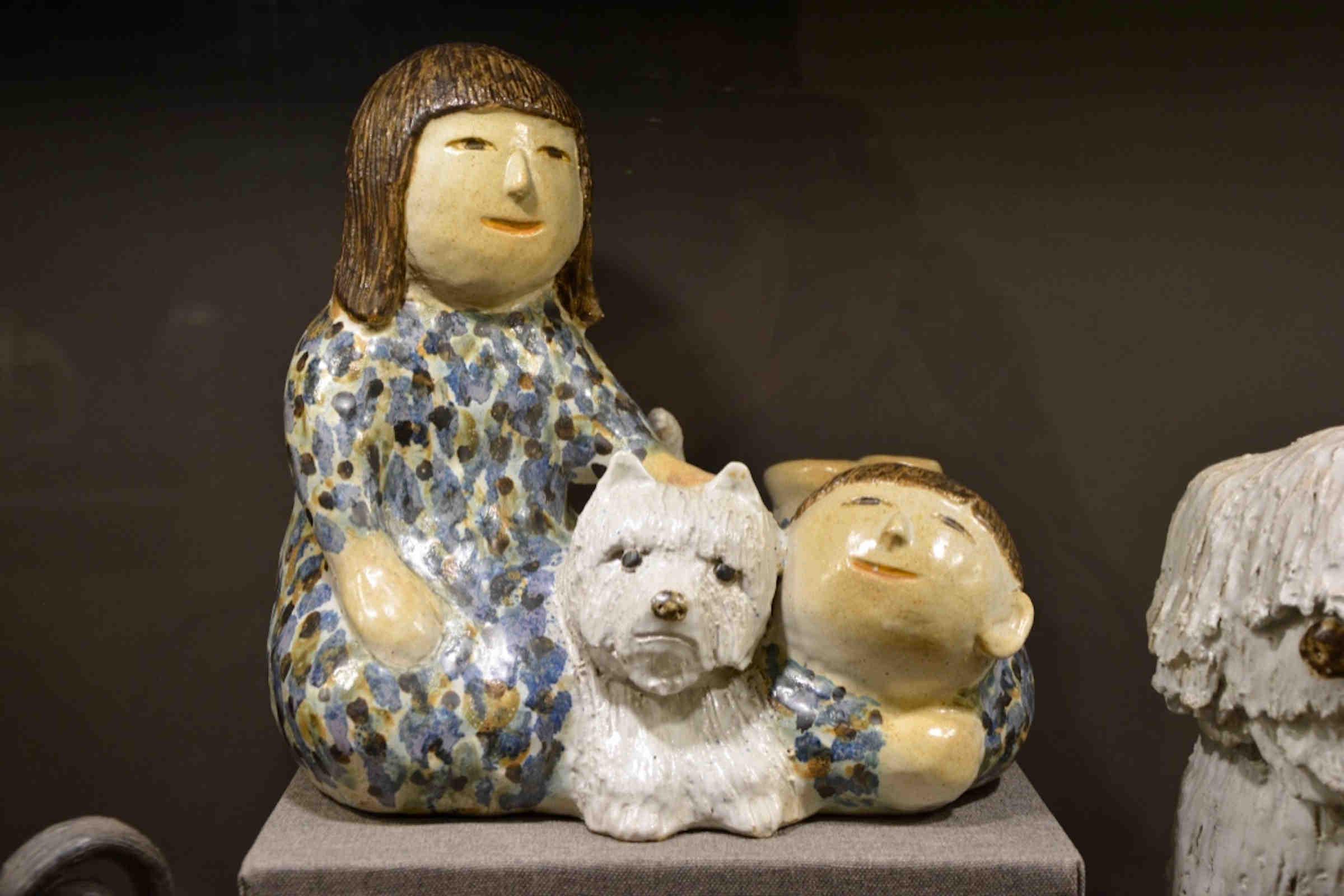 TK Girl with Dog, Kakinuma coll. ex YIP