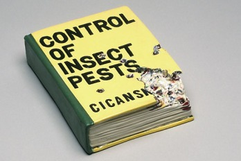 Victor Cicansky. Control of Insect Pests. Clay, glaze. 33.8 x 22.1 cm. 2005