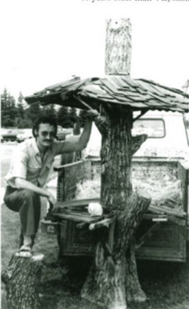 Victor Cicansky. Last Picnic. Don Kerr. The Garden of Art: Vic Cicansky, Sculptor, p.30
