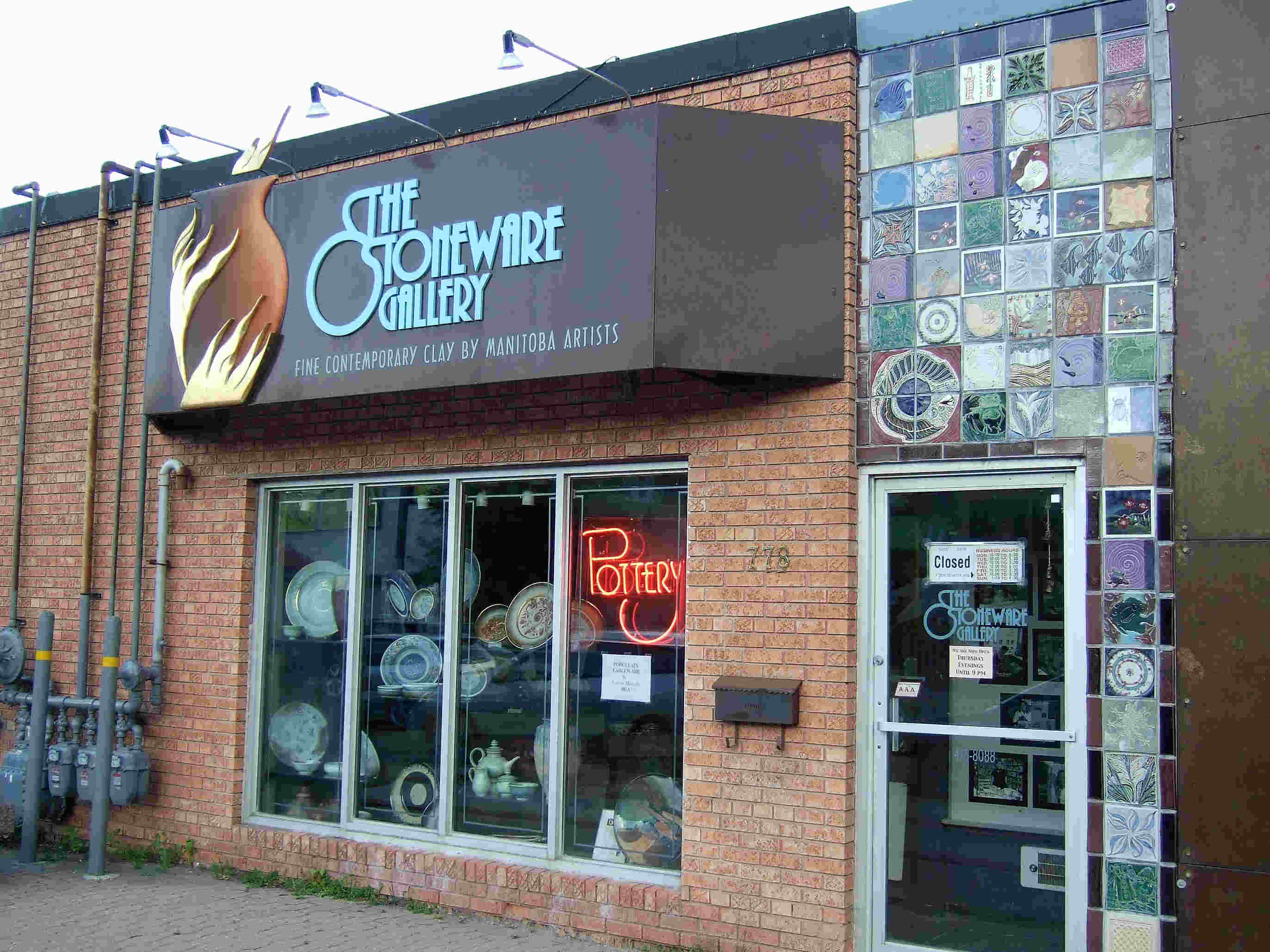 The Stoneware Gallery, Winnipeg.